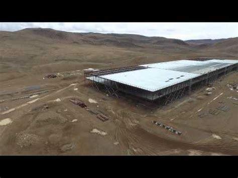 Tesla Motors Megafactories Drone S Eye View Of The Tesla Gigafactory