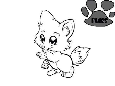 coloring pages of cute wolves cute wolf coloring contest 1 on scratch