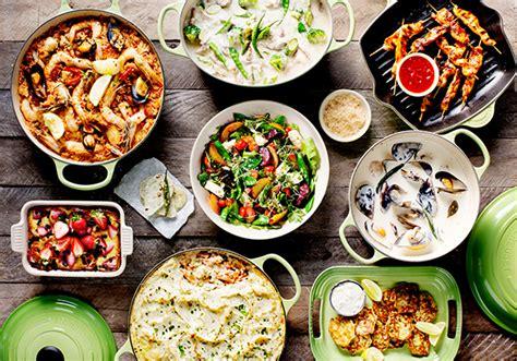 table of food le creuset natani 235 l s table