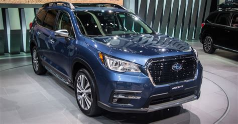 New Subaru 2018 Ascent by 2018 Subaru Ascent Unveiled
