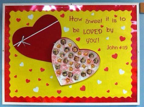 valentines boards s board idea sunday school bulletin board