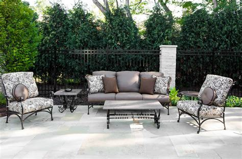 upscale patio furniture luxury outdoor furniture owlee