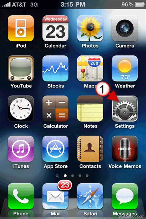 how to display battery percentage on iphone how to enable the battery percentage display on the iphone 4