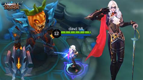 tutorial lancelot mobile legend new lord new halloween map lancelot new skin mobile