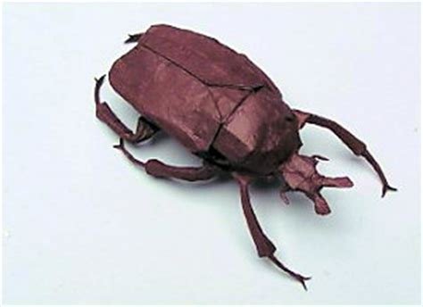 Origami Beetle - the origami resolution damn interesting