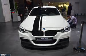 bmw 335i m performance parts at the motor show