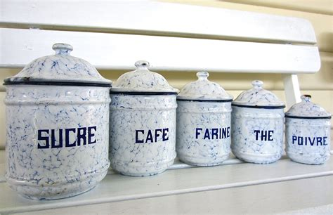 where to find white kitchen canisters