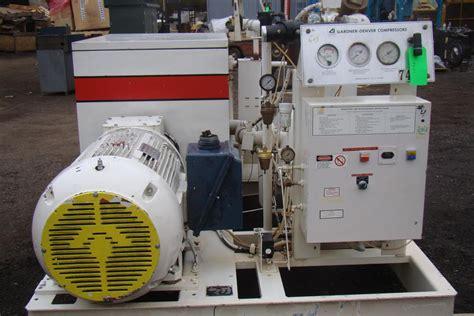 gardner denver 150hp air compressor 460v max pres 125 psi eaqqoc ebay