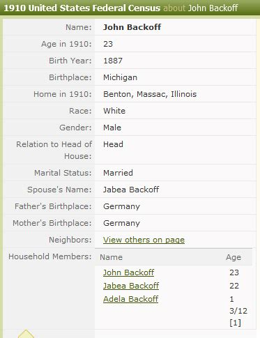 Illinois Marriage Records After 1900 Tabea Of William Christianhausmann And Husband And Were