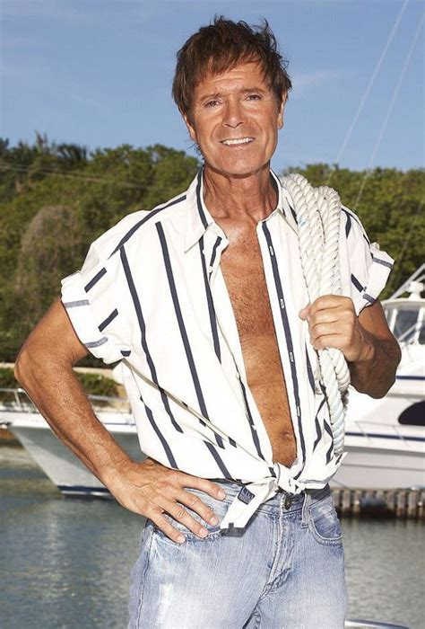 cliff richard official 2018 cliff richard s 2018 calendar is going to make your mum s day metro news