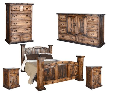 rustic wood bedroom set rustic bedroom set pine wood