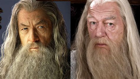 actor gandalf y dumbledore sparklife 187 9 things j k rowling totally stole from tolkien
