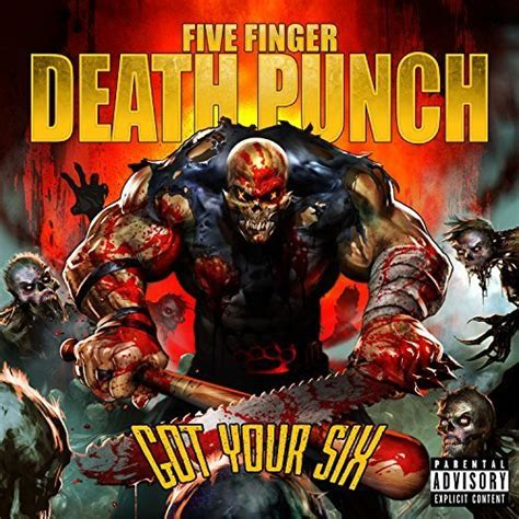 five finger death punch covers five finger death punch got your six cd covers