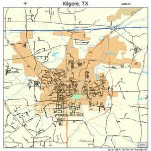 map of kilgore kilgore map 4839124