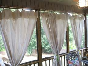 Diy Drop Cloth Outdoor Curtains » Ideas Home Design