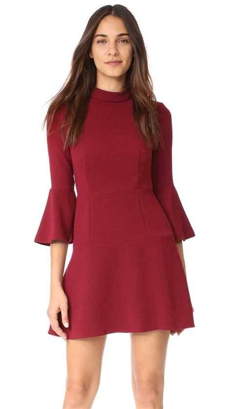 Califa Zipper Dress the best bell sleeve dresses on trend for fall 2017