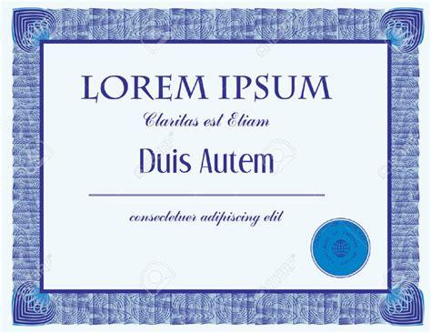 certificate design in pdf vector stock certificate templates certificate templates