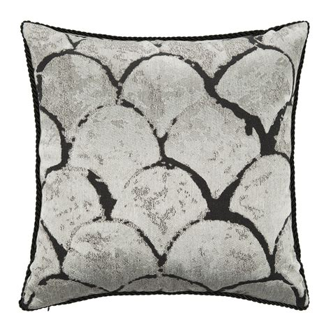 silver cushions bedroom silver gold bed cushion 40x40cm silver designd uk