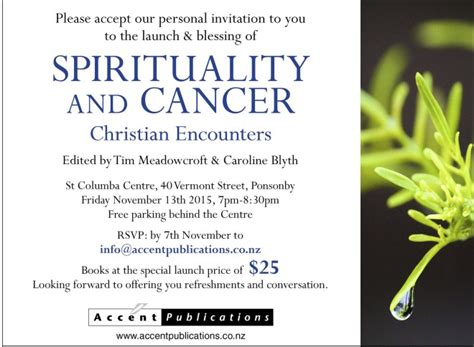 a christian and a called cancer books spirituality and cancer christian encounters greenflame