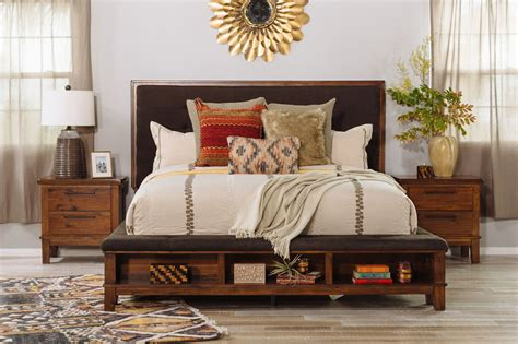 Ralene Bedroom Set by Four Contemporary Storage Bedroom Set In Brown