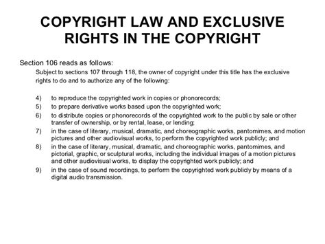section 106 copyright act webinar music copyright contracts goldmine or minefield