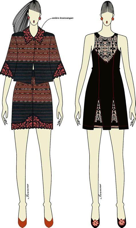 Tribal Baju Batik Dress Niki 86 best ikat tenun batik songket images on