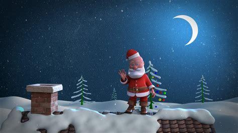 animated card template animated card template santa stuck in chimney
