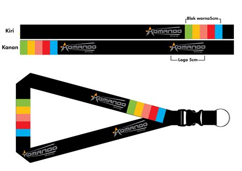 lanyard design template komando lanyard by kecotz on deviantart
