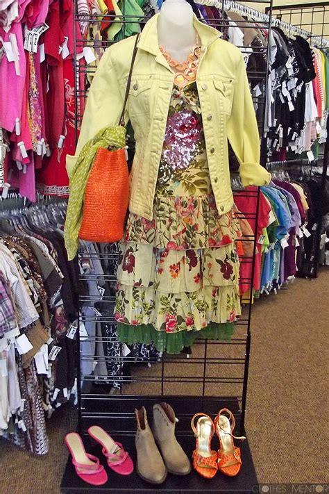 inside our clothes mentor s clothing resale shop in