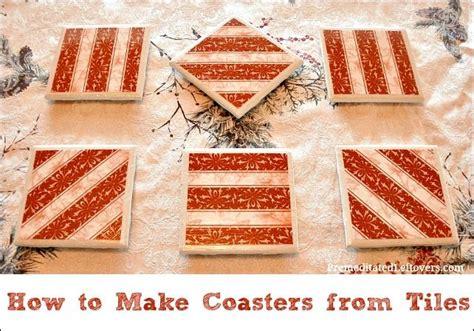 diy tile coasters make something mondays how to make coasters with tiles diy tiles boy scouts