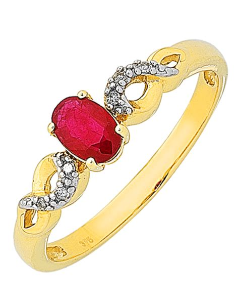 popular cheap wedding rings for newlyweds ruby and