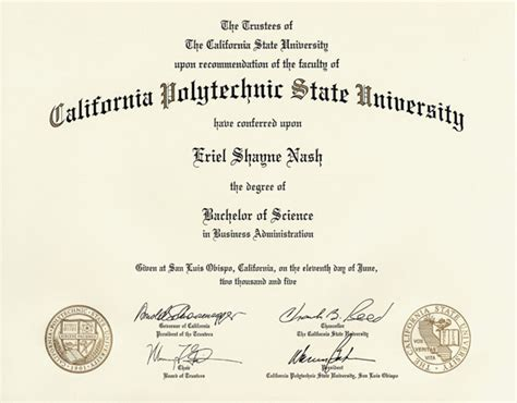Bs Mba Diploma by Eriel S College And Graduations