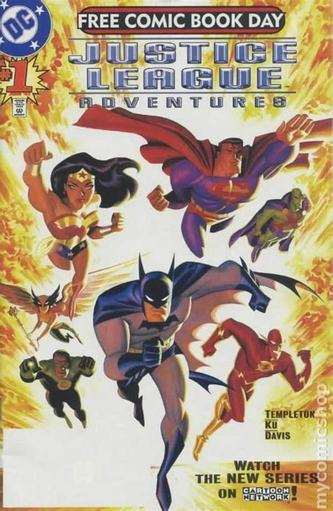 justice books justice league adventures 2002 fcbd comic books
