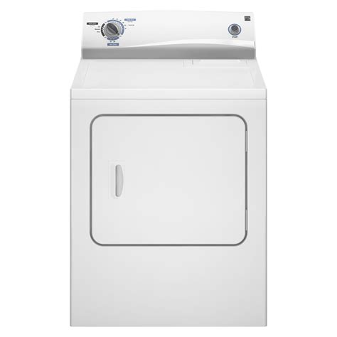 kenmore dryer kenmore 6 0 cu ft electric dryer white shop your way