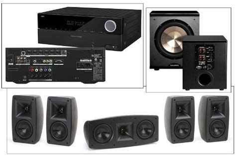 bic acoustech pl 980 7 1 home theater system new pl