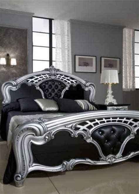 bedroom furniture black  silver video
