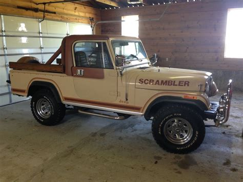 jeep scrambler for sale near me 1981 jeep scrambler cj8 laredo original survivor classic
