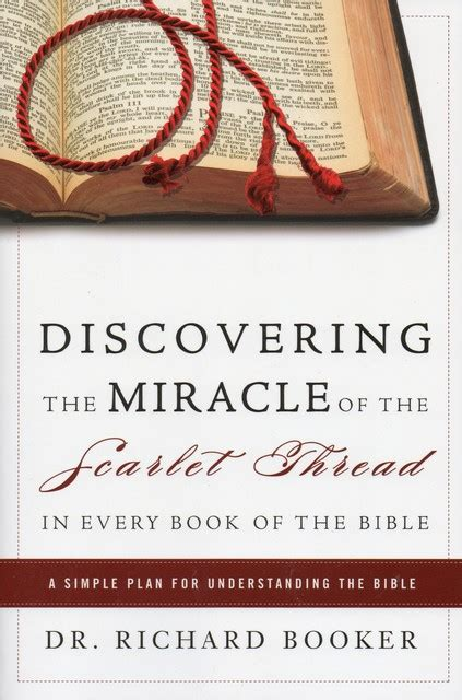 themes of every book of the bible discovering the miracle of the scarlet thread in every