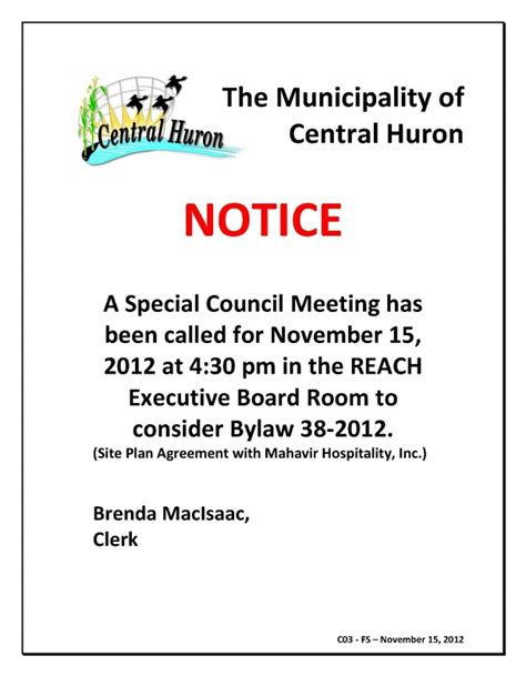 safety announcement template mandatory staff meeting notification template pictures to