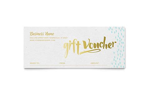 gift certificate templates indesign illustrator