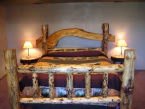 Rustic Log Bed Frame Bed Frames