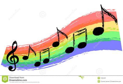 Music Rainbow stock illustration. Illustration of lines