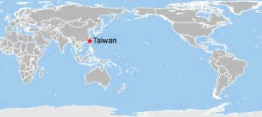 World Map Taiwan by Where Is Taiwan On The World Map Submited Images