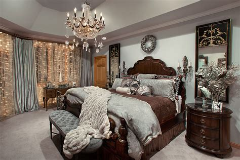 decorating a bedroom for christmas christmas decor mediterranean bedroom chicago by spallina interiors