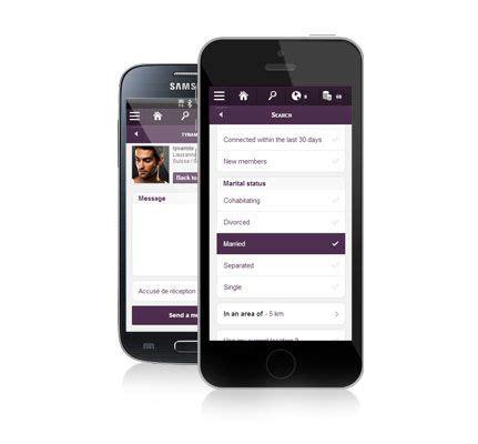web version on mobile new web mobile version of gleeden gleeden