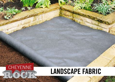 Landscape Fabric Vs Barrier Products Cheyenne Rock 702 657 9688