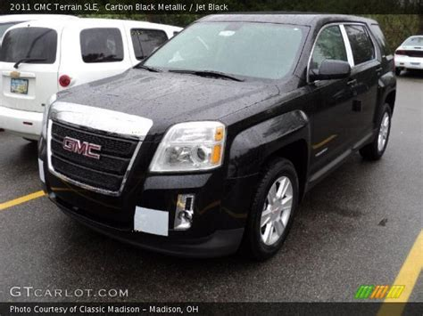 2011 gmc terrain interior carbon black metallic 2011 gmc terrain sle jet black