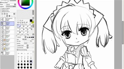 paint tool sai drawing anime how to draw anime in paint tool sai melchiott
