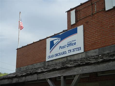 Western Springs Post Office by Crab Orchard Tennessee Post Office Post Office Freak