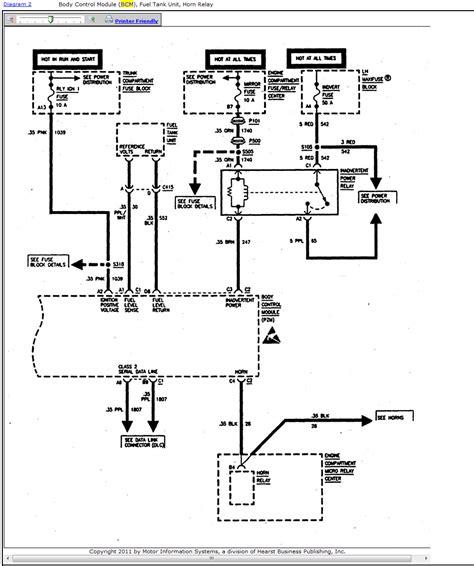 1999 Cadillac Wiring Diagram Cadillac Cts Starter Relay